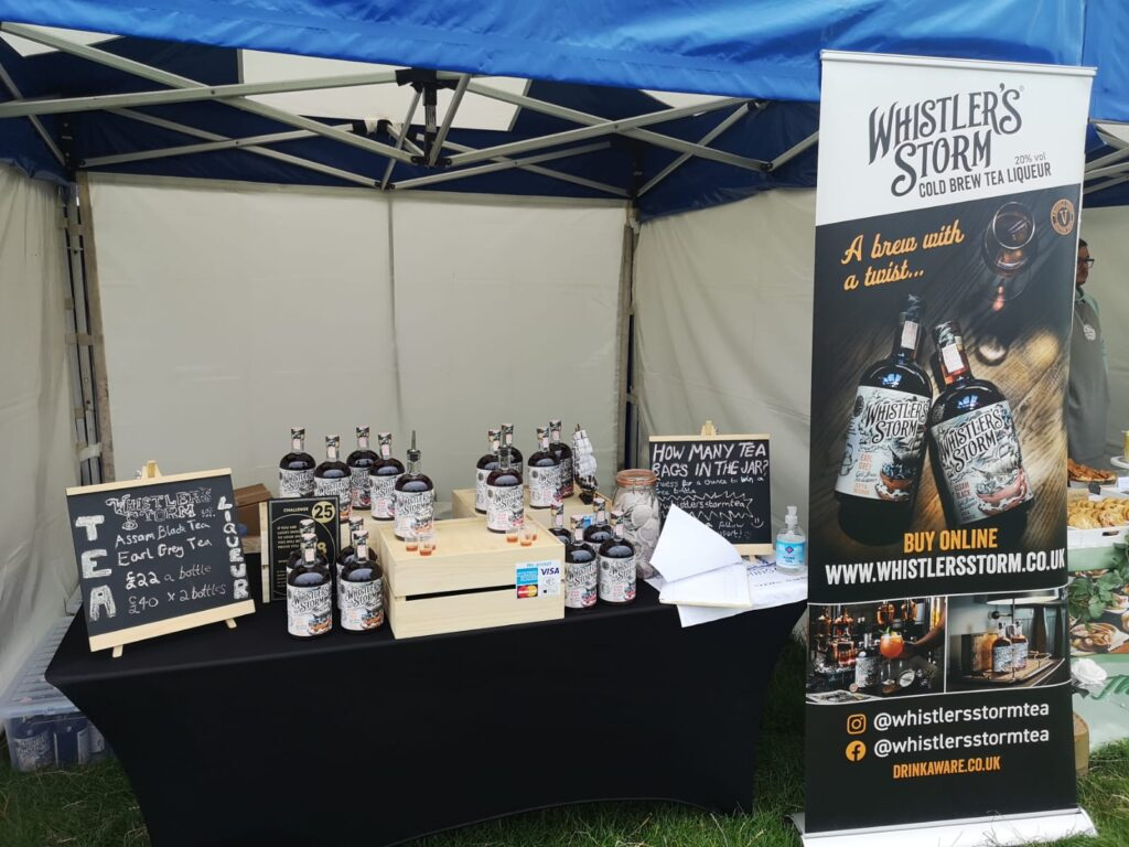 Image of stall set up at market events